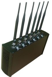 China Adjustable Mobile Phone Remote Control Jammer / Blocker For School EST-505F factory