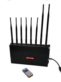 China Cell Phone Signal Remote Control Jammer EST-502C8 12W 8 Omni Directional Antennas distributor
