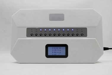 China 12 Bands IoT Software Control Cell Phone Wifi Signal Jammer Built In Antennas With LCD Screen factory