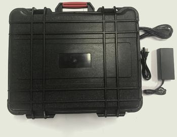 China Portable Suitcase Cell Phone GPS WiFi Signal Jammer 11 Bands With Battery Built - In factory