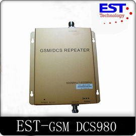 China Full-duplex EST-GSM DCS Dual Band Repeater / Mobile Phone Signal Repeater distributor