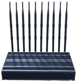 China EST-505F10 Desktop OEM 10 Bands Cell Phone 2G 3G 4G 5G WiFi Signal Jammer factory