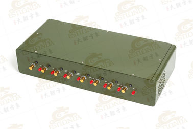 China High Power cell phone scrambler , Power Source External Antenna Jammer factory