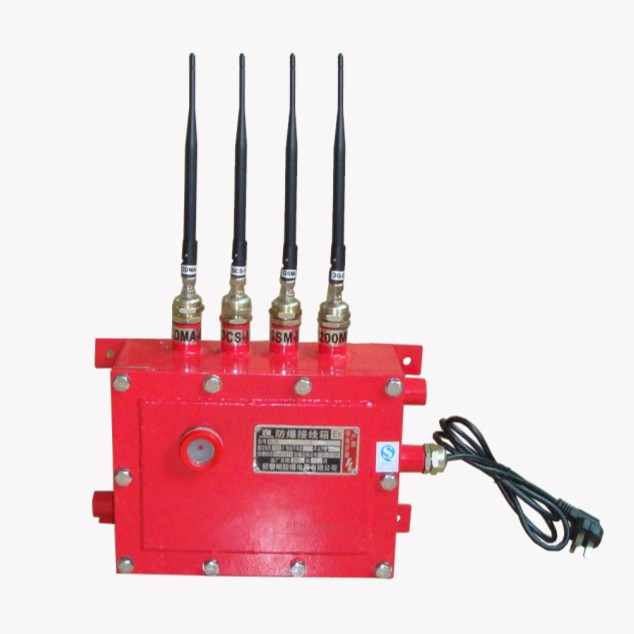 3W GSM Blast Shelter Cell Phone Signal Jammer EST-808GII for Indoor / Outdoor