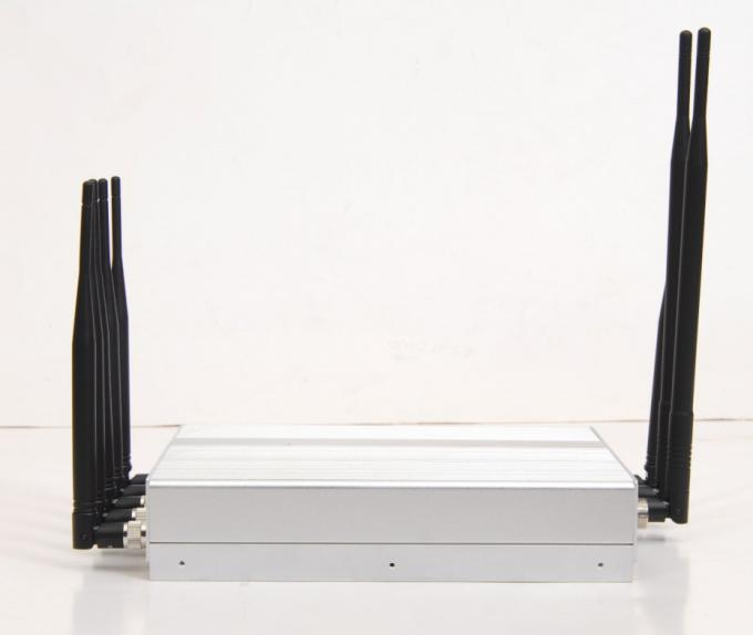 8 antenna VHF/UHF +3G mobile phone signla jammer/blocker