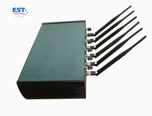34dBm Mobile Phone Remote Control Jammer / Blocker EST-505F For School