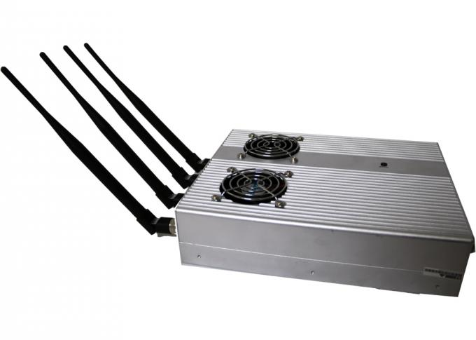 3G 4W 6dBm Remote Control Jammer / Blocker EST-505BF For Conference Room