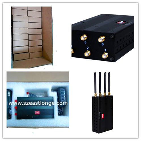 10 Meters Range Portable Cell Phone Jammer 30dbm With DCS