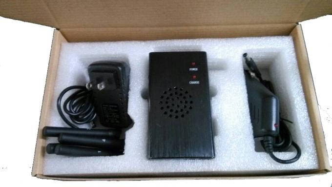 Portable High Power Wi-Fi Cell Phone Jammer / Blocker 30dBm with Fan