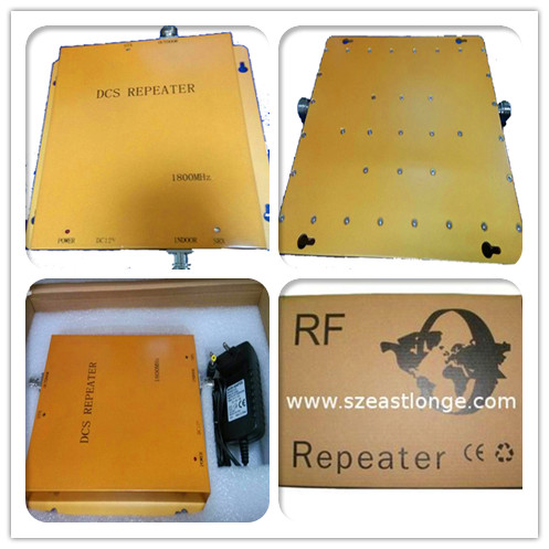 GSM970 1800MHZ DCS Mobile Phone Signal Repeater / Amplifier / Booster For Office