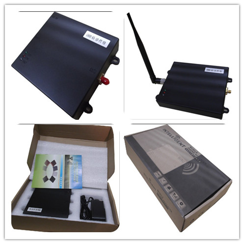 Black Intelligent Cell Phone Signal Repeater With Isolation Testing