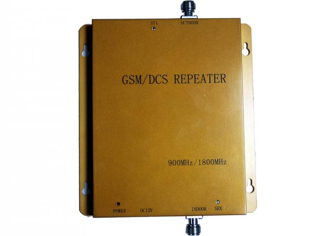 High Power Dual Band Repeater 900MHz / 1800MHz With GB6993-86 Standard
