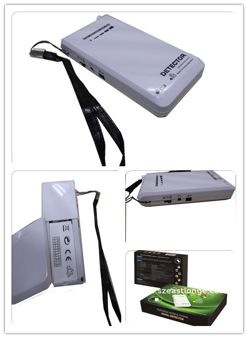 Custom mobile Cell Phone Signal Detector for school , theater EST-101B