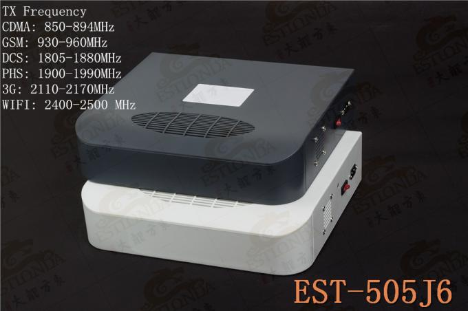 2G / 3G / WIFI High Power Jammer , mobile phone booster DC5V