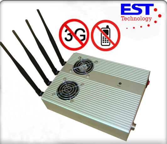 High Powered Cell Phone Signal Jammer , Cell Phone Signal Blocker