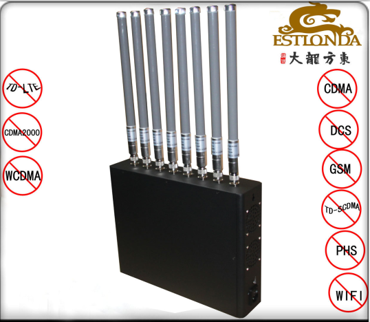 Cell Phone Signal Jammer Range 1-30M , Cell Phone Jamming Device