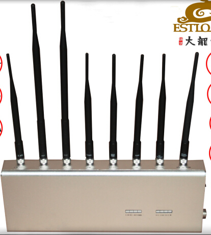 Adjustable Cell Phone Signal Jammer , Cell Phone Signal Blocker Antennas Blocking 2