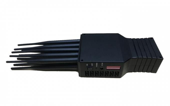 small powerful portable cell phone signal jammer US system 3G 4G