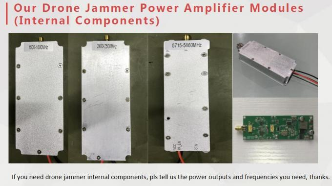 Internal Components Drone UAV Jammer Power Amplifier Modules 100W 100MHz~5.8GHz
