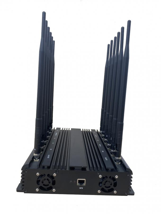 Optional IoT Smart Management Software Control EST-804F12 12 Bands Cell Phone 2G 3G 4G 5G WIFI Signal Jammer
