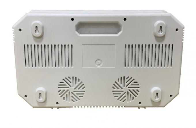 12 Bands IoT Software Control Cell Phone Wifi Signal Jammer Built In Antennas With LCD Screen